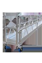 Modulaire hangbrug installaties