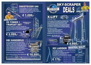 Flyer Sky-scraper Deals ASC