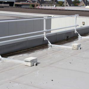 Dakrandbeveiliging plat dak
