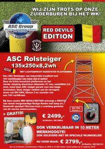 ASC A-Line Kamersteiger actie Belgie