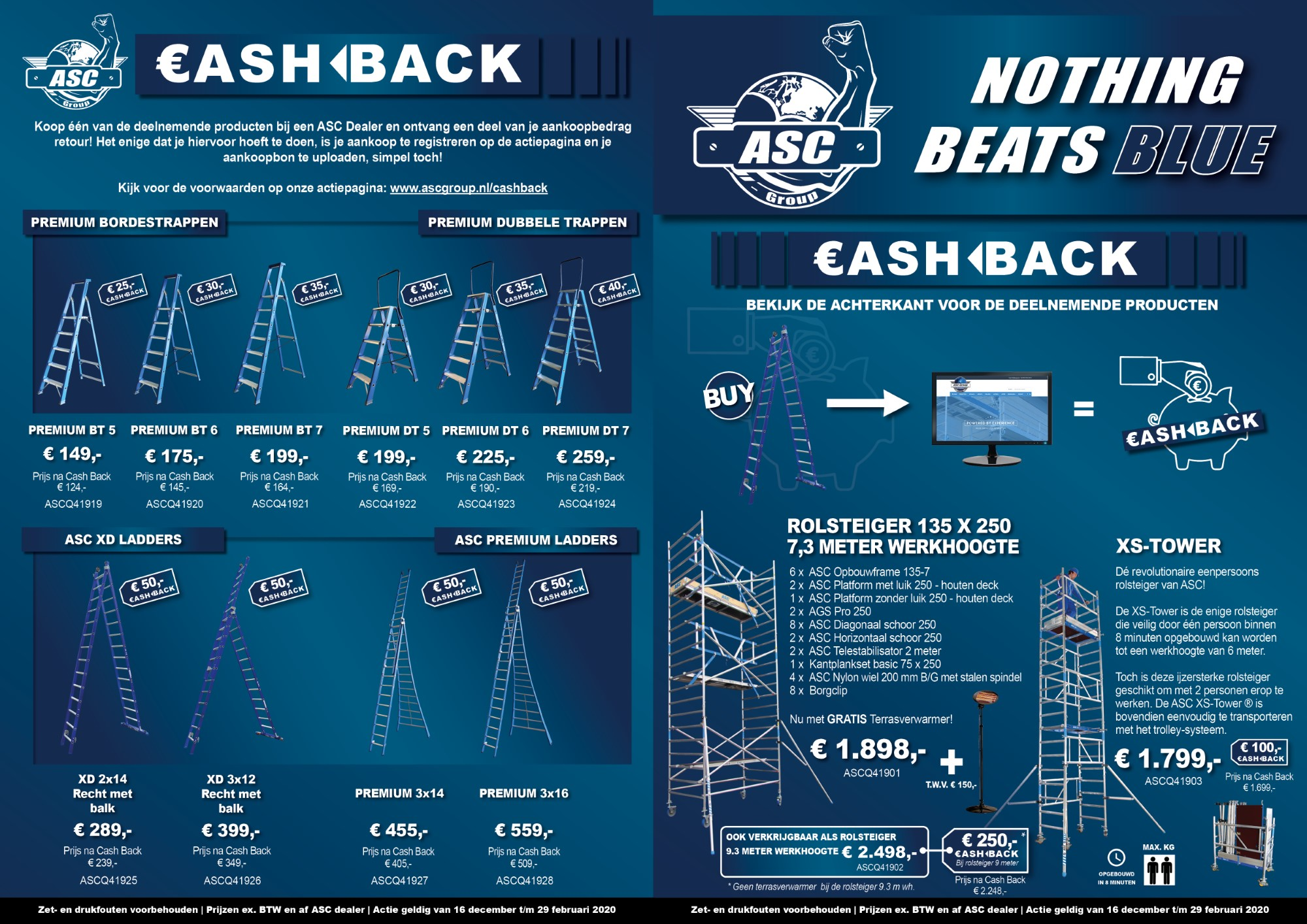 ASC ACTIE Nothing beats blue A3 (Aangepast)