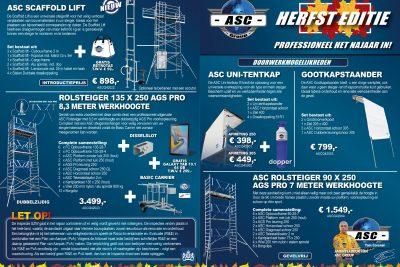 ASC ACTIEFLYER: HERFST EDITIE