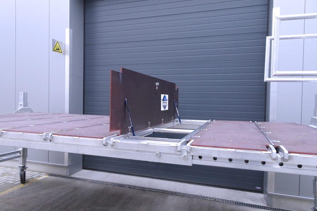 Platform aluminium werkbordes